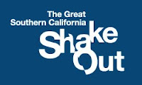 californians duck & cover & for largest-ever quake drill