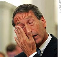 sanford says i've been unfaithful to my wife