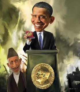 after nobel nod, obama convenes afghan war council