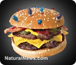 natural news launches food investigations with 'pharmaburger'