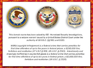 dhs seizes more domains; this time for linking to copyrighted material