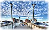 Мост, небо