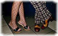 Вечеринка, обувь, ноги, танцы