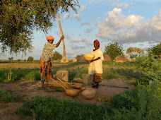 Pounding Millet