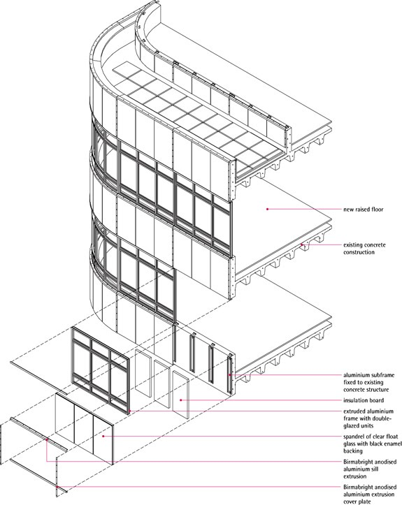 Curtain Wall Dwg