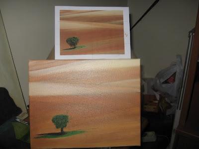 telas pintura a óleo