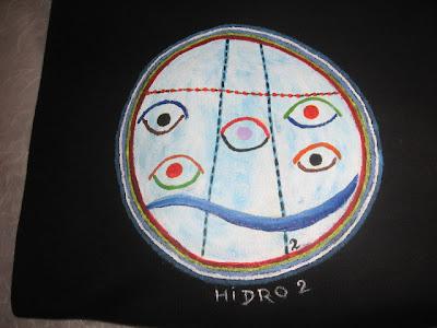 T-shirt de hidroginástica