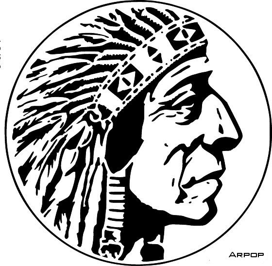 free scroll saw patterns by arpop  indian chief circle