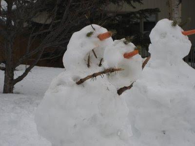 Killer Alaskan Snowmen