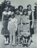 Walter and Anise Malott with Children