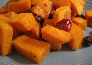 Sweet Mustard Sweet Potatoes