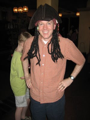 Jack Sparrow at Disney World