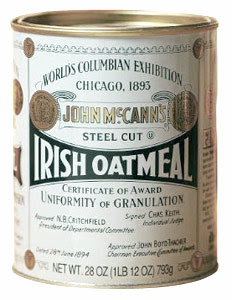 McCann's Irish Steel Cut Oats