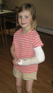 Lillian's Broken Arm