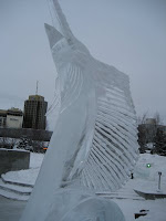Ice Sculptures in Anchorage, Alaska