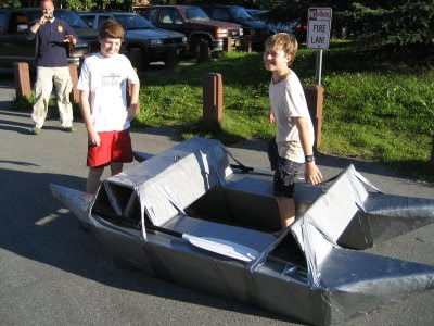 Duct Tape Boats