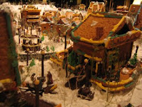 Gingerbread Village at The Captain Cook Hotel