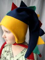 Fleece Dinosaur Hat