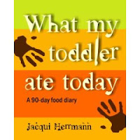 What My Toddler Ate Today: A 90-day Food Diary by Jaqui Hermann