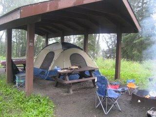 Camping in Ninilchik, Alaska