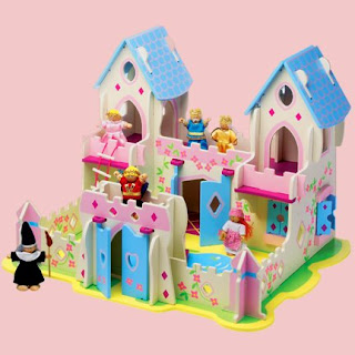 Fairy Castle Play Set from Warm Biscuit Bedding Company