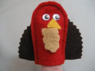 Turkey Finger Puppets