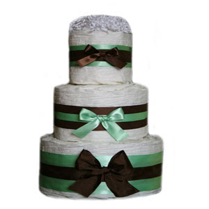 Diaper Cakes from Grow in Style