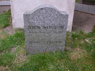 Mary Chilton's Grave in Boston