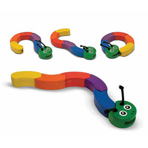Snake Toy from Corner Stork Baby Gifts
