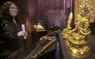 Gold Exhibit at Anchorage Museum at Rasmussen