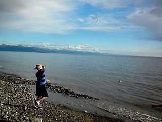 Beach in Anchorage, Alaska