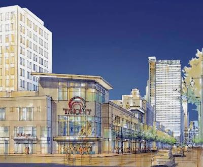 Target Store rendering on Market East Philadelphia