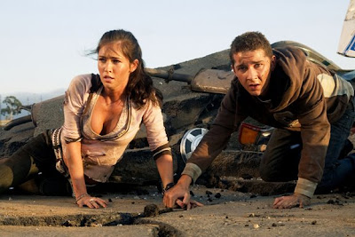 Shia LaBeouf and Megan Fox, Transformers Still