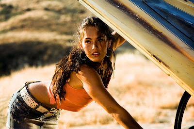 Megan Fox in Transformers, still