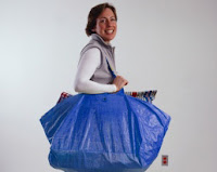 Ikea big blue reusable bag
