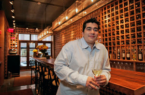 Jose Garces inside Tinto