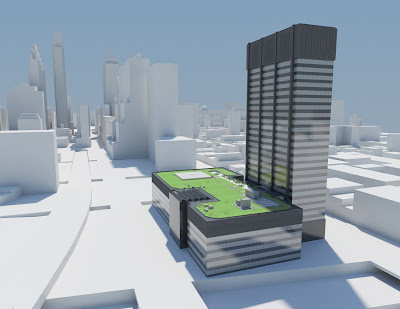 the illadelph peco finds conscience unveils massive green roof on its philadelphia headquarters. Black Bedroom Furniture Sets. Home Design Ideas