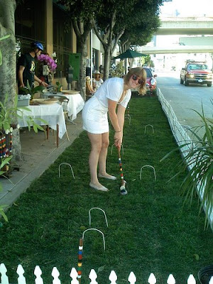 croquet during PARK(ing) day