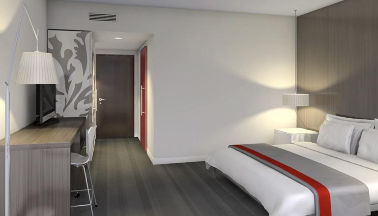 a room at Le Méridien Philadelphia