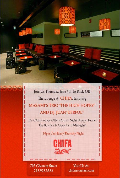 chifa lounge opening
