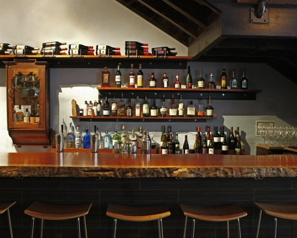 the bar at noble american cookery in philadelphia