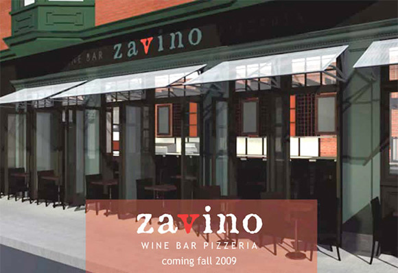 zavino pizzeria in philadelphia rendering