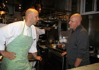 tom colicchio and marc vetri at vetri