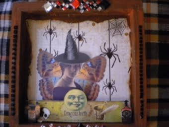 Moonlight Journey Halloween Shrine
