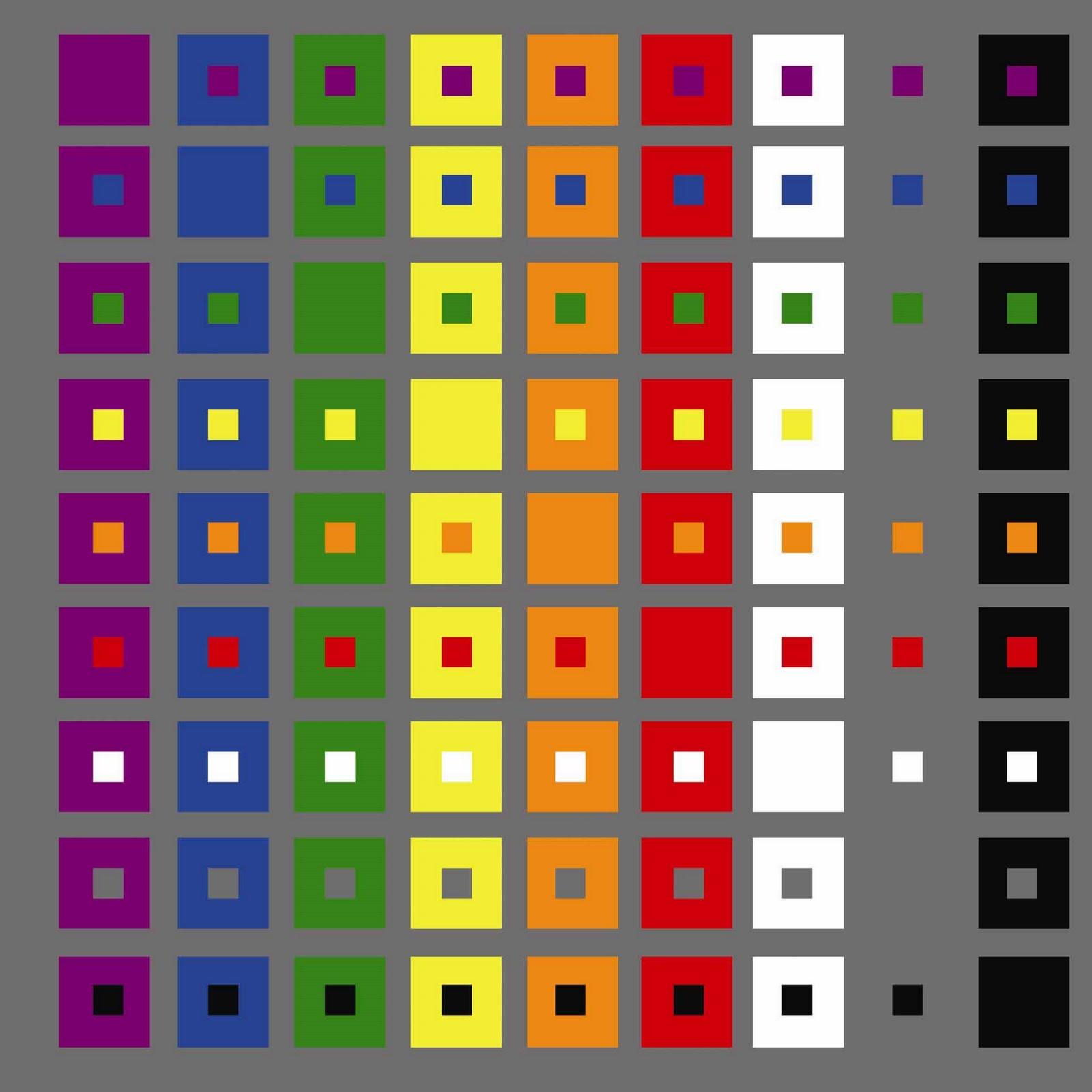 Luz ojo color lenguaje mayo 2010 for Table de 0 6
