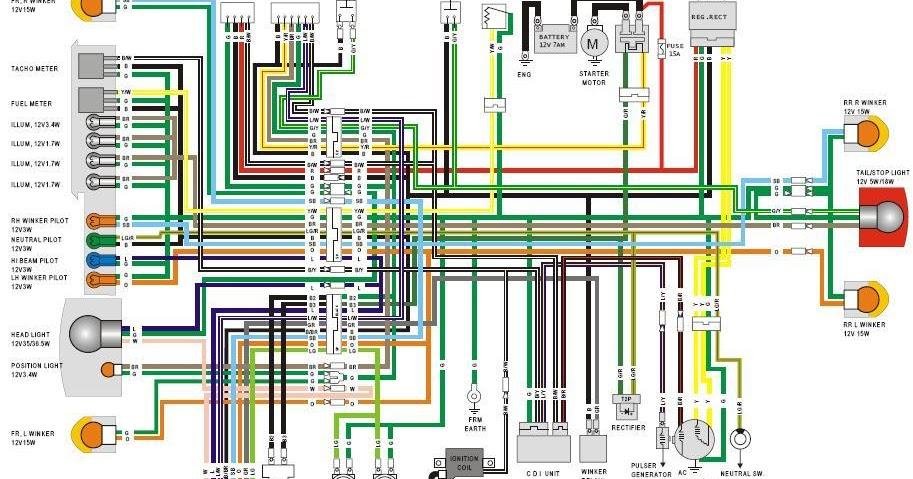 Wiring Diagram Kelistrikan Supra Fit : Wiring diagram kelistrikan supra k