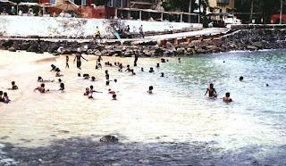 Playa en Gorée