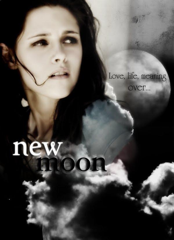 kristen stewart new moon poster. kristen stewart,