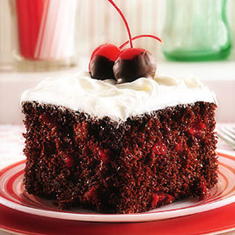 Chocolate Cake Cherry Pie Filling Coke