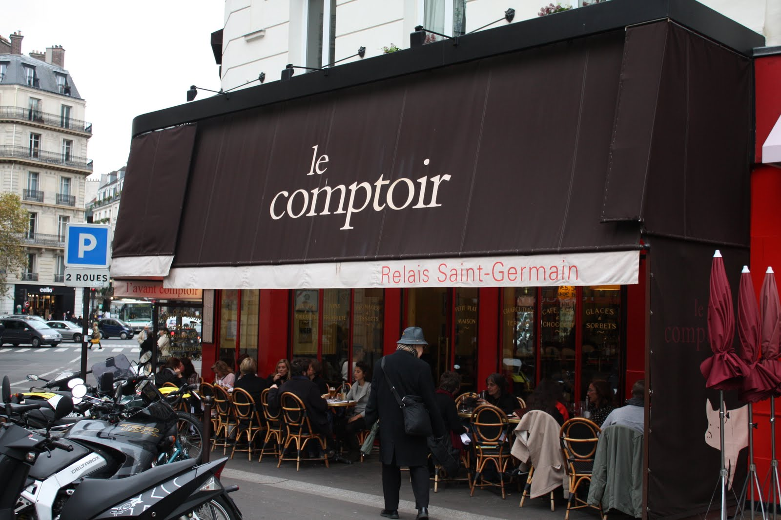 Nyc girl uninterrupted lunch at le comptoir paris - Le comptoir paris restaurant reservations ...